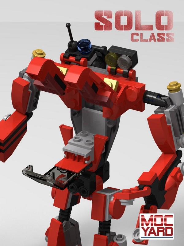 LEGO® robot | MOC Yard