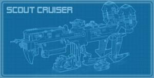 Vortex Cruiser Landed Blueprint